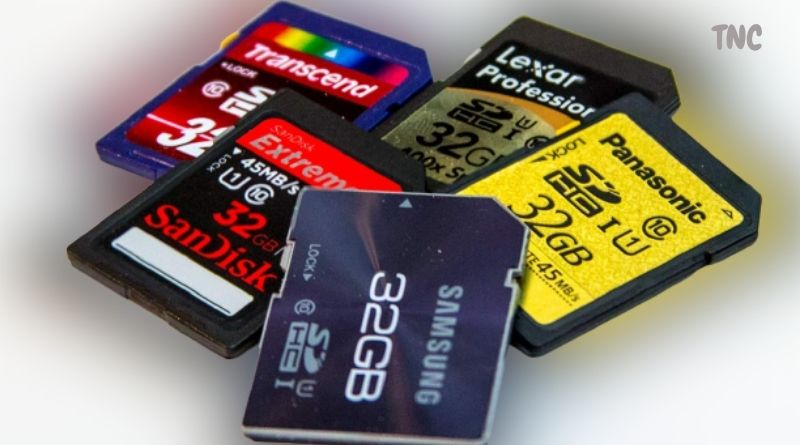 types of sd cards sizes