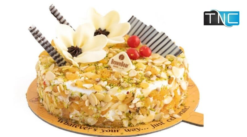 dry fruit cake recipe