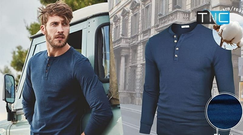 5 Durable and Comfy T-Shirts with Long Sleeves for Men