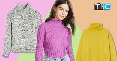 Mock Neck Sweater: Make a Layered Outfit in winter